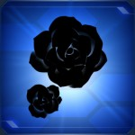 Simple Rose Black 150x150