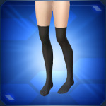 Black Knee High Socks 150x150