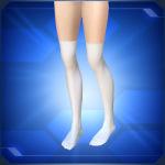 White Knee High Socks 150x150