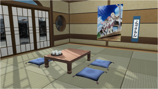 YuruYuri Room Items