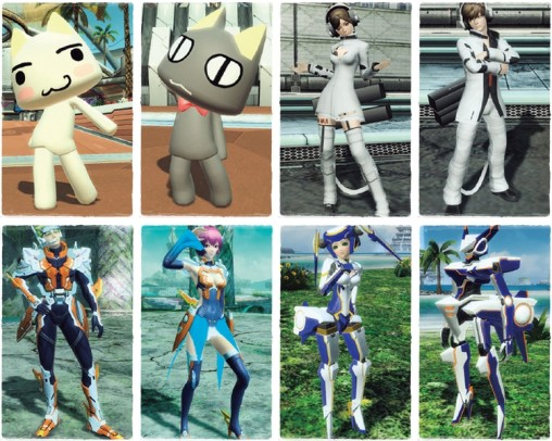 Freedom Wars Facility Costumes