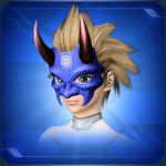 新光蒼鬼面 Pristine Blue Devil Mask