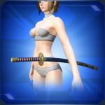 飾り刀 青 Blue Decorative Sword