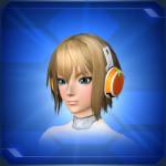 ミコルヘッドフォン 橙 Orange Micol Headphones