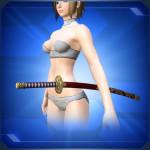 飾り刀 赤 Red Decorative Sword