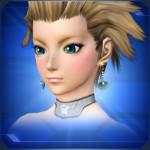 貝殻ピアス 青 Blue Seashell Earrings