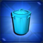 フタ付きゴミ箱 Lidded Trashcan