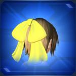 ガーリッシュリボン 黄 Yellow Girlish Ribbon