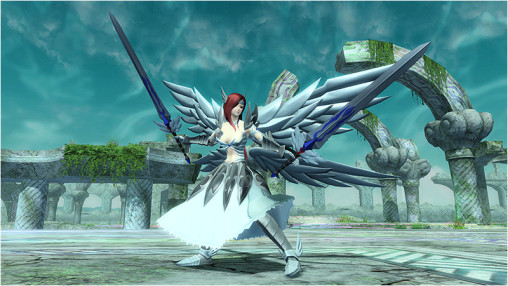 Heaven's Wheel Armor Twin Blades