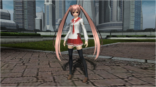 Aria's Butei High School Uniform