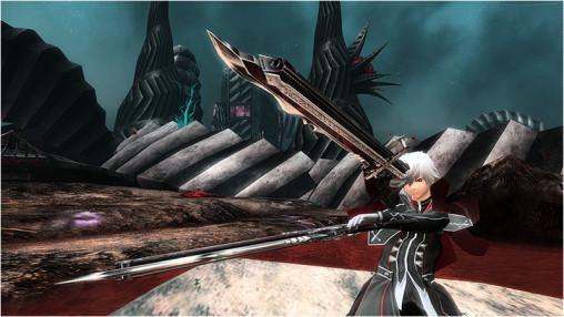 Twin Demonic Gunblades Amphisbaena