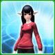 711 T-Shirt F Crimson [Ba]