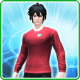 711 T-Shirt M Crimson [Ba]