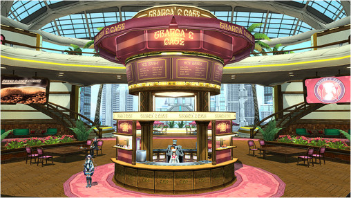 Franca's Cafe Lobby