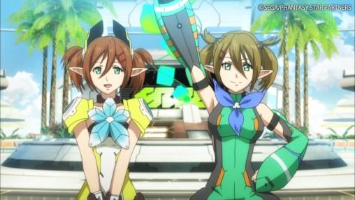 PSO2 Anime Patty and Tiea