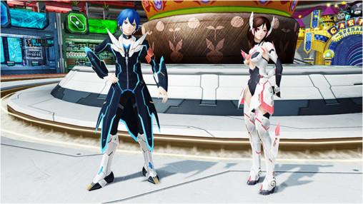 PSO2 Lobby Itsuki and RINA