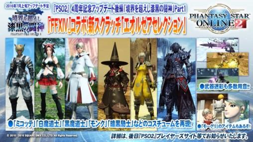 FFXIV Costumes List