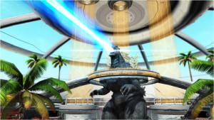 Godzilla PSO2 Ray