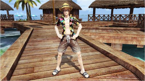 Hawaiian Shirt & Aloha Shorts