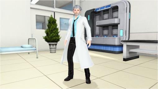 ラボコートM [Ou]Lab Coat M [Ou]