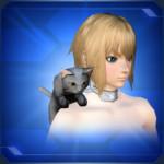 肩乗りクロネコShoulder Black Cat