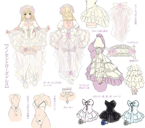 Innocent Rose Dress (By Luna Maria)
