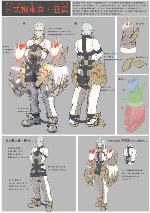 Type 3 Straitjacket NE (by LIKURU)Unisex Costume