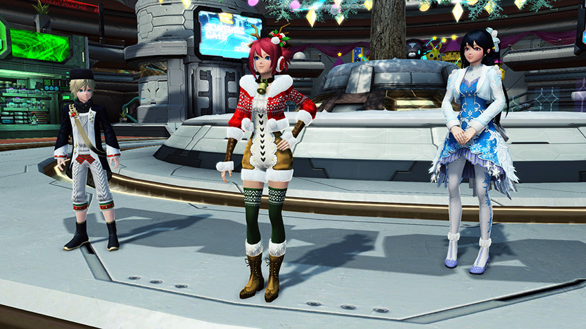Pso2 2020 Christmas Client Orders Dance with Omega Masquerade in PSO2's New Ultimate Quest | PSUBlog
