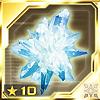 Big Meteorite Crystal