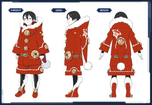 Half Santa Coat
