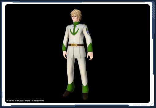 Yamato Chief Navigator Uniform