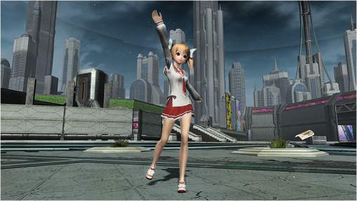 Akari's Butei High School Uniform