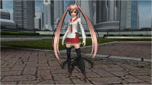 Aria's Butei High School Uniform