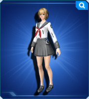 郷愁学生女制服 雪 Nostalgic Student Uniform F Snow