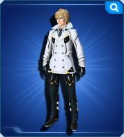 オフィサーコート雪 Officer Coat Snow