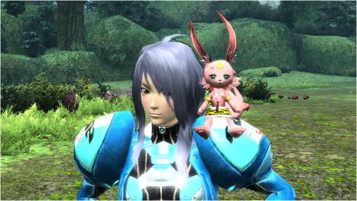 肩乗せ赤鬼ニャウShoulder Riding Red Oni-Nyau