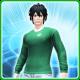 711 T-Shirt M Leaf [Ba]