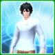 711 T-Shirt M Snow [Ba]