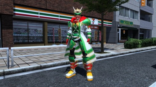 Kotoshiro Protector's Clothes 711