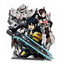 PSO2 Anime Wall Sticker 2