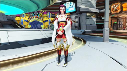 PSO2 Lobby Yumiko